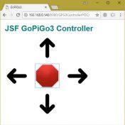 GoPiGo3 JSF Control Panel
